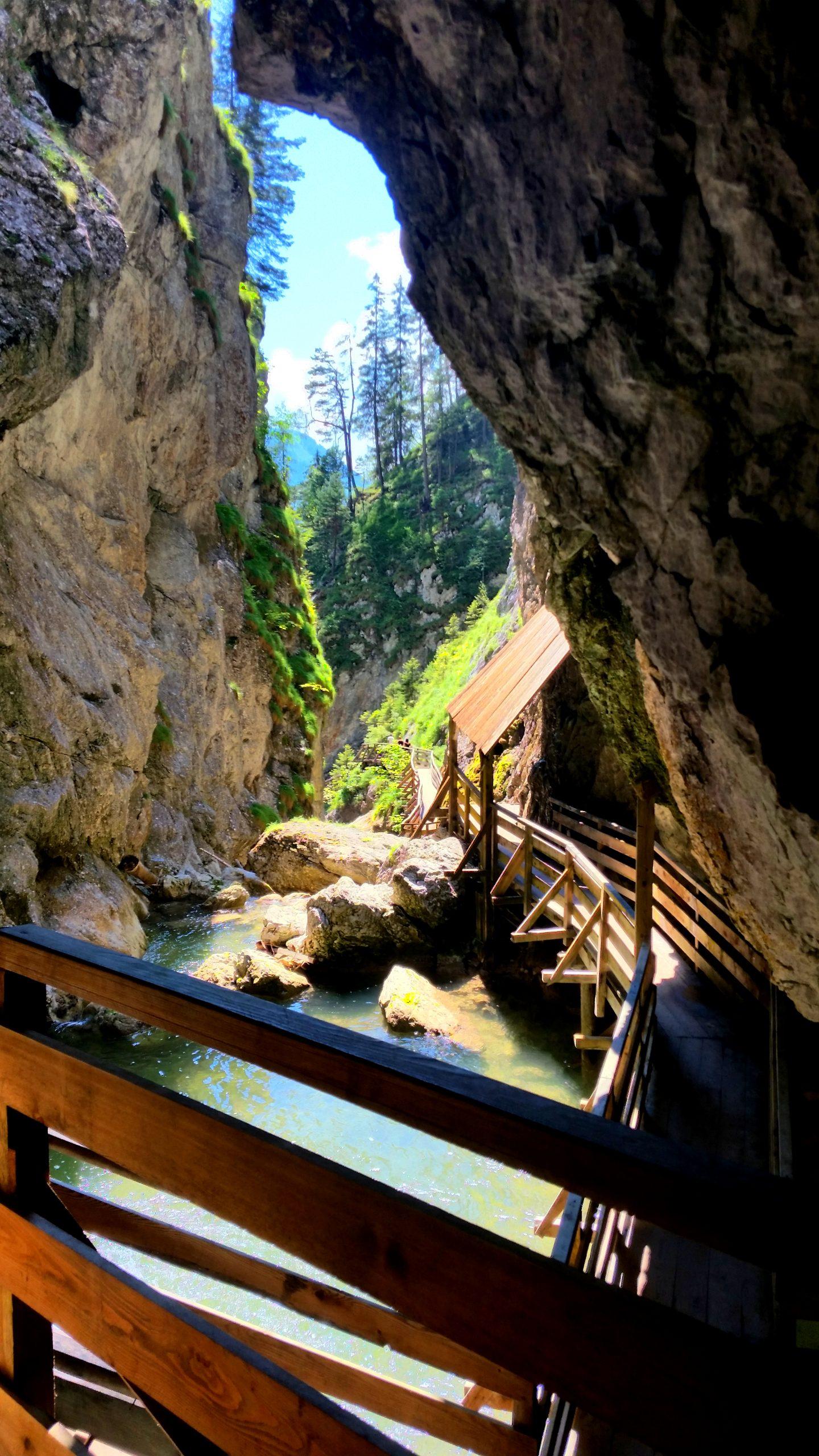 Wörschachklamm Brücke