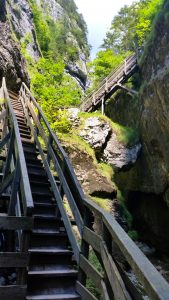 Wörschachklamm Treppen